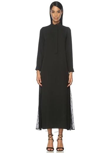 Dantel Detaylı Uzun Elbise-Beymen Collection